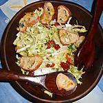 recette Frisée aux croutons a l ail