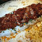 recette Dos de cabillaud en croute de parmesan et tomates séchées