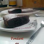 recette Fondant au chocolat & cannelle