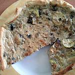 recette Tarte  thon / courgette