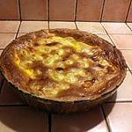 recette Tourte poireaux-pommes de terre