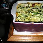 recette Flan aux courgettes et Flan aux courgettes & jambon blanc