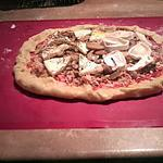 recette une magnifique pizza