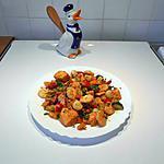 recette Poêlée de la mer et ses petits légumes.