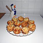 recette Muffins poires et pépites de chocolat.