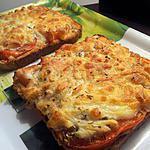 recette tartine facon pizza