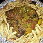 recette cuisse de poulet epicée