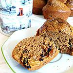Honey and Treacle muffin - muffins miel mélasse