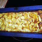 recette CLAFOUTI aux pommes caramélisées