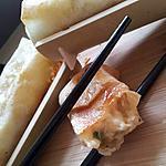 Nems croustillant au camembert