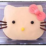 Hello kitty : recette Gateau Hello Kitty