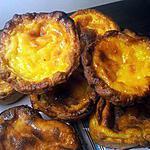 recette pasteis de nata (petit flan portugais)