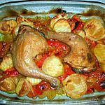recette Cuisse de poulet au curcuma