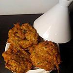 recette beignet de courgette au curry
