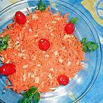 recette Carottes rapées au gingembre