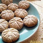 recette Biscuits Ronds d'étoiles