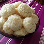 recette boule a la noix de coco