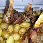 recette souris d'agneau et ses pommes de terre grenaille