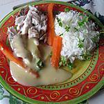 Merlu au beurre blanc et son riz basmati