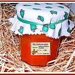 recette Confiture potimarron et pommes