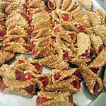 recette PANIER ou Babouches aux sésame et miel