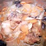 recette lapin aux pruneaux et au miel