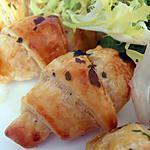 recette minis feuilletés italiens, petite frisée