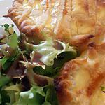 recette tartelette chavroux-pignons