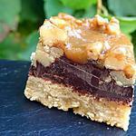 recette Gourmandises noix-choco-caramel