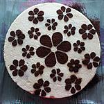 recette Bavarois poire chocolat biscuit spéculoos