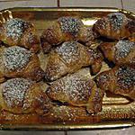 recette Mini croissants  du petit déjeuner en Italie