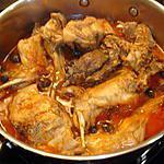 recette lapin à la tomate et épices