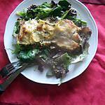 recette lasagnes  !!!!!!      saumon épinards champignons