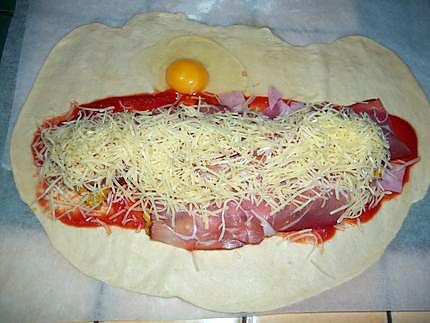 Recette De Pizza Blanc De Poulet Jambon Blanc Et Fumee