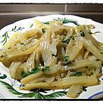 recette Blettes a l'ail et au persil