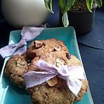 recette Cookies beurre de cacahuetes, pépites de chocolat, noisettes