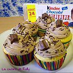 recette Cupcakes au Kinder