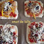 recette MINIS PIZZAS MSAMMENS