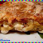 recette Naans au bacon, tartare aux noix et moutarde
