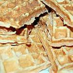 recette Gaufre au Biscuit Rose