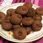 recette mini muffins au chocolat et framboise