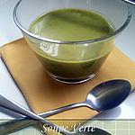 recette Soupe verte ~Petits pois & salade~