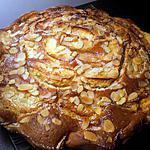 recette gateau aux pomme et amande