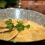 Raviolis au Pesto de Ligurie, épinards et ricotta
