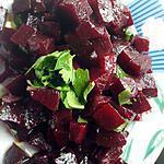recette salade de betterave...
