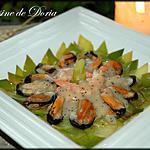 recette Fruits de mer à la fondue de poireaux et pavot