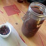 recette cerises au  vinaigre   recette trouvée sur le site supertoinette