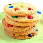 recette cookies au m&m's :