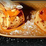 recette aumônières en écharpe orange.