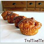 recette Muffins à la pomme et au massepain